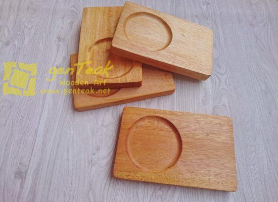 tatakan gelas kayu